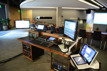 Silicon Valley Mobile Control Booth for Classroom