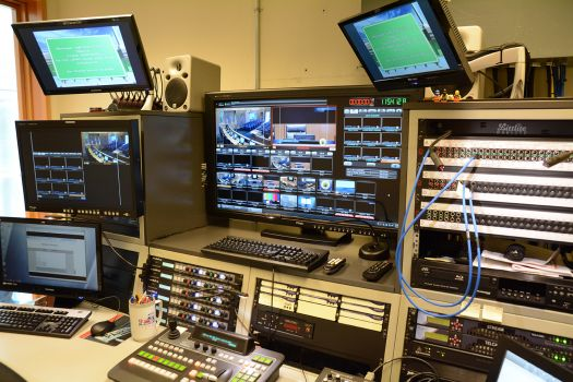 Control Booth - Recording and Live Streaming