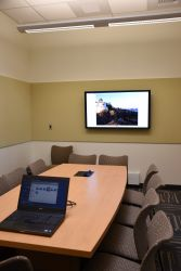 Conference Room with Flat Panel and Laptop access